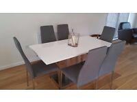 Kalista Pedestal Dining Table by WerkStadt