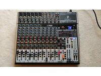 Behringer Xenyx 1832USB 18-channel mixing desk - used, very good condition