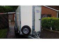 IFor Williams BV105 Double Axle Box Trailer