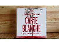 CARTE BLANCHE - A JAMES BOND STORY- AUDIO BOOK