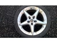 wheel alloy for vauxhall inch 18
