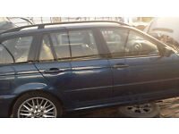 breaking bmw 330 diesel estate all parts available