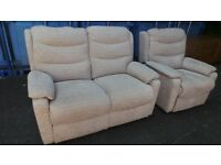 Immaculate Condition Electric recliner armchair and sofa,Possible Delivery