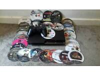 PS3 plus controllers and games