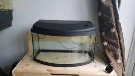 55ltr fish tank plus accessories