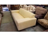 Yellow 3 Seater couch