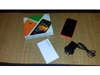 Nokia Lumia 635 mobile phone - boxed with charger