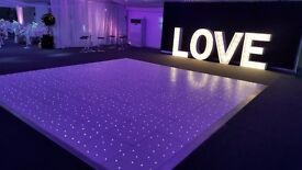Led dance floor available on hire
