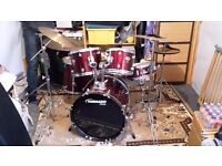 Mapex 8 piece drum set & extras £250 ono