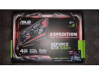 BRAND NEW Asus GeForce GTX 1050 Ti EXPEDITION 4GB GDDR5