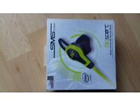BioSport, SMS Audio Biometric Earbuds with Heart Rate monitor.