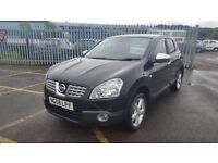 2008 NISSAN QASHQAI 1.6 ACENTA FULL MOT PX WELCOME 3 MONTH WARRANTY