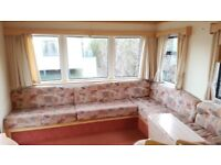 BARGAIN £8995 REDUCED CHEAP STATIC CARAVAN - NORTH SHORE SKEGNESS - SITE FEES INCLUDED' COASTFIELDS
