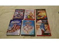 6 christmas dvds