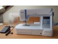 Janome atelier 5 sewing machine, new, unused.