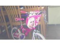 Kids barbie bike