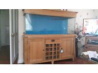 Aquaoak 160 wine rack
