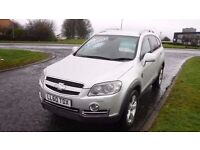 CHEVORLET CAPTIVA LTZ CDi Auto,7 Seater,(60)plate,Leather,Alloys,Sat Nav,Cruise,Park Sensors,F.S.H