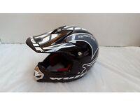 Wulf Full-face kids helmet - Black