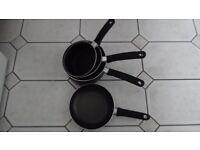 Set of Tefal Non Stick Pans