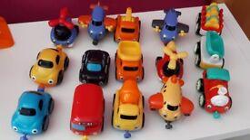 ELC Whizz around garage with vehicles