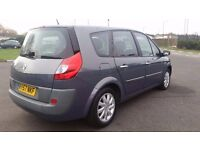 7 SEATER RENAULT GRAND SCENIC 1.5 DIESEL IN EXCELLENT CONDITION. LONG MOT. FULL SERVICE HISTORY