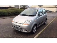 2006 Silver Chevrolet Matiz SE 1.0ltr Manual **Low Mileage** **7 Months MOT**