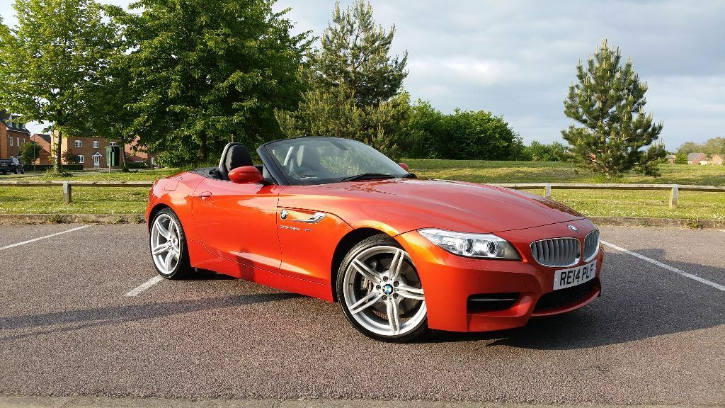 2014 Bmw Z4 Sdrive 35is 3 0l Convertible Sunburnt Orange