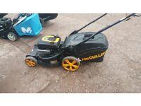 mculloch m51, self drive petrol lawn mower