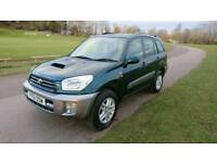 Toyota Rav 4 D4D 2001/51 , One Owner , FSH Consisting of 15 Stamps,Mot October, Clean Example.