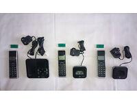 BT Home Phone With Answering Machine Xenon 1500 Trio