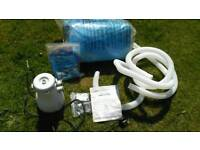 3 metre 10ft quick up pool with water filter new