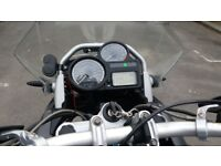 BMW R1200GS with panniers and Top Box