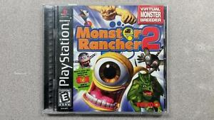 Monster Rancher 2 PS1 Game