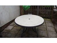 Free garden table,