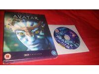 brand new Avatar BluRay 3D + 2D BluRay+ DVD