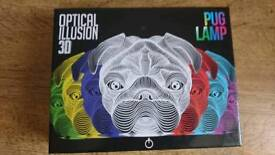 3D Pug Lamp
