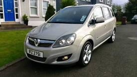 Part ex / swap - 2010 Vauxhall Zafira 1.8 Sri - only 54k miles! 7 seater - FINANCE AVAILABLE