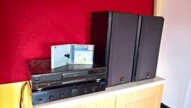 Bowers & Wilkins speakers plus Cambridge Audio Amp/ Technics CD combo