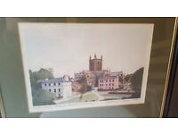 Hereford Cathedral Print - Jonathan T. Adams Limited Edition Artists Proof - 1989