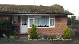 one bedroom bungalow in Platt near Borough Green in Kent, semi rural.