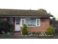 one bedroom bungalow in Platt near Borough Green in Kent, semi rural.