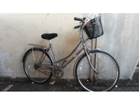 LADIES DUTCH STYLE RALEIGH BIKE WITH BASKET-LARGE £50
