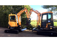 Digger & Driver Hire Essex / Suffolk