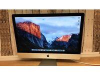 Apple Imac 2011 Model. 27 inch i7, QUAD CORE, 16 GB RAM, 3.4 GHz, 2TB HDD