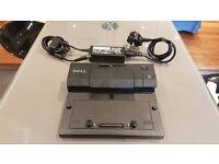 Dell PR03X PRO3X E-Port Simple Port Replicator Docking Station Dock USB 2.0
