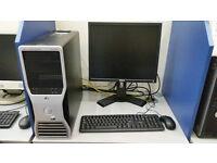 Dell Precision T5400, Intel Xeon 2.33 GHz, 6GB RAM, 1000GB HDD, Radeon HD, DVD, Windows 10 PRO