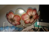 Unique real shell red light shades