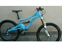 Orange Alpine 160 full suspension mountain bike