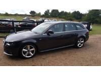 Audi A4 avant s-line 170 tdi dpf estate full Audi history years mot cheap car Kent bargain